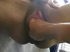 Fisting amateur