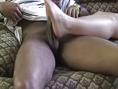 Sweet cock, Milf footjobs, Milf footjob, Interracial ginger, Her first cock, Her first big cock